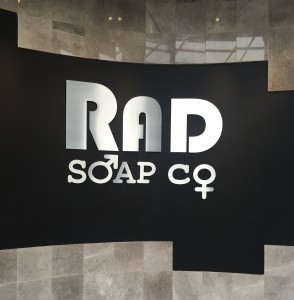 RAD Soap Logo